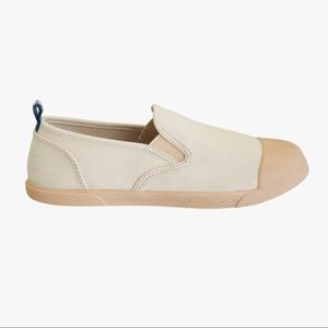 • Zara • Elastic Goring Cotton Sneakers
